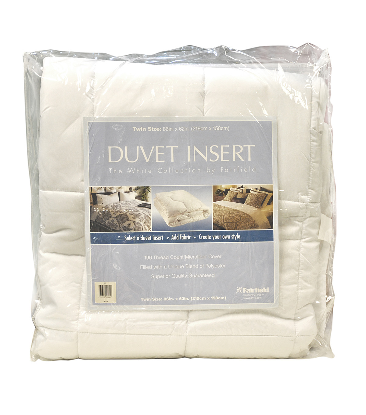 The White Collection Duvet Insert-Twin