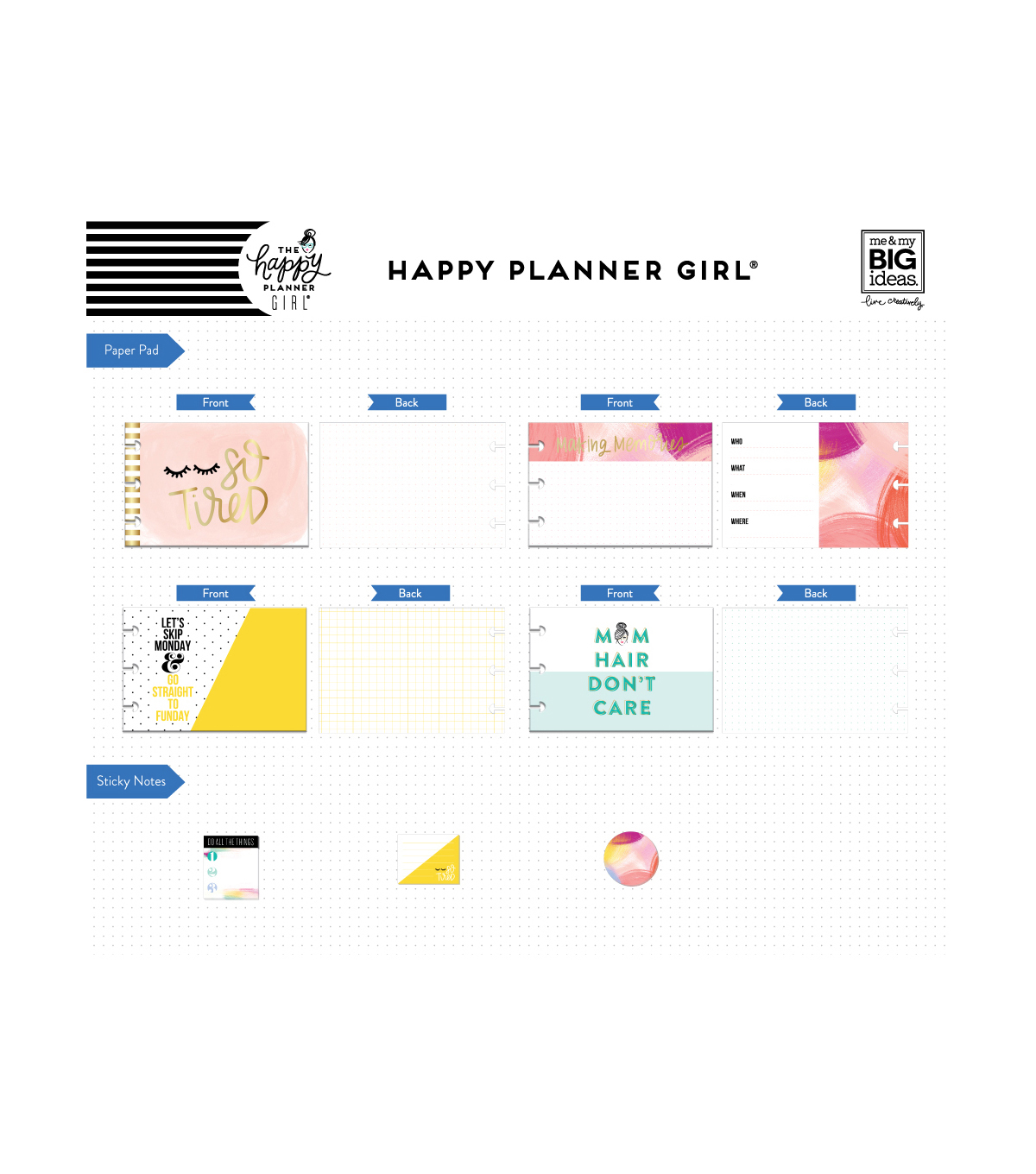 The Happy Planner Girl Multi Accessory Pack-Super Mom