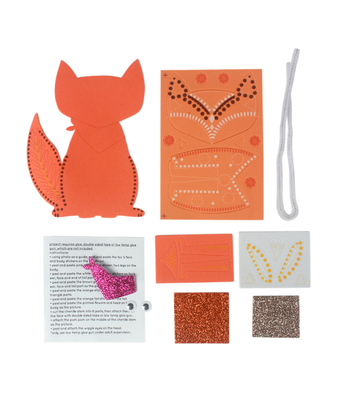 Little Maker\u0027s Fall Foam Kit-Fox