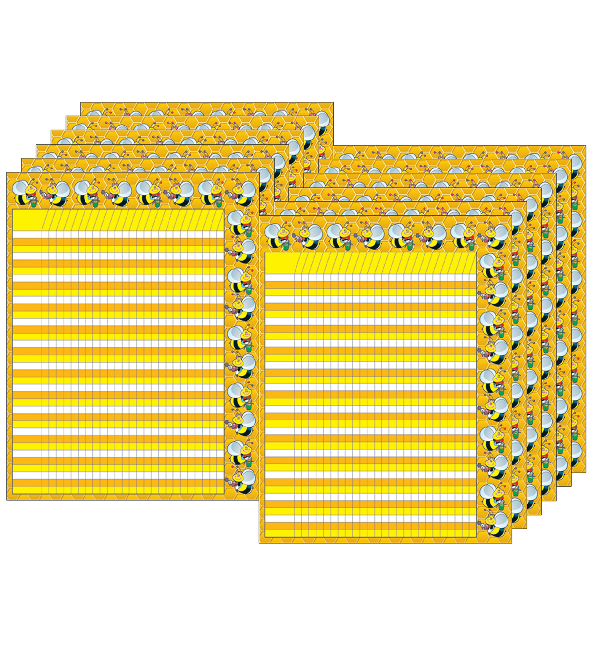 Incentive Chartlet Bees, 12 Per Pack