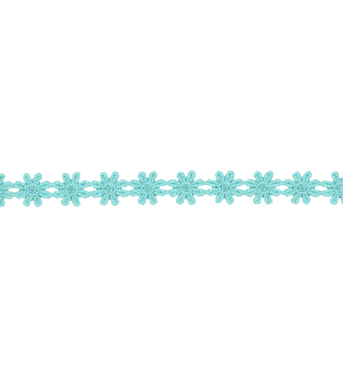 Simplicity Trims-3/8\u0022 Aqua Small Daisy Venices