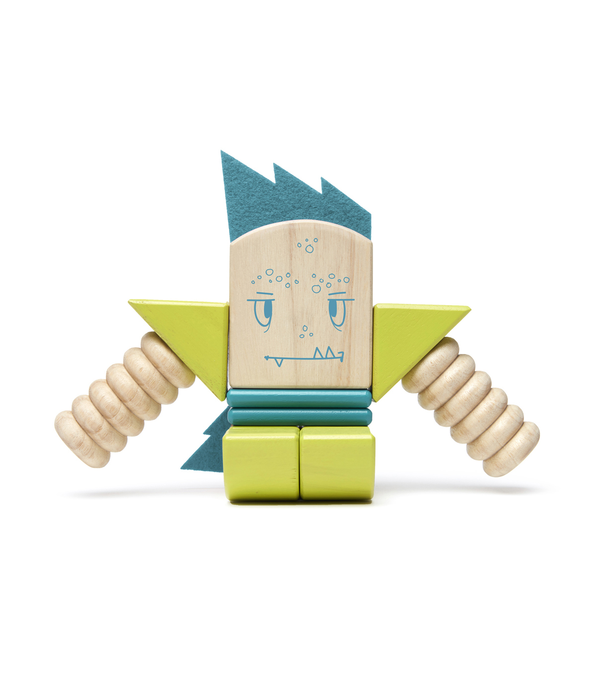 Zip Zap Wooden Block Set