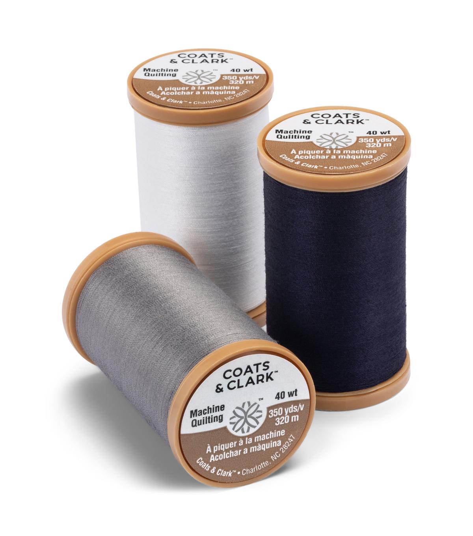 Coats Thread /& Zippers Machine Quilting Cotton Thread Navy 350-Yard