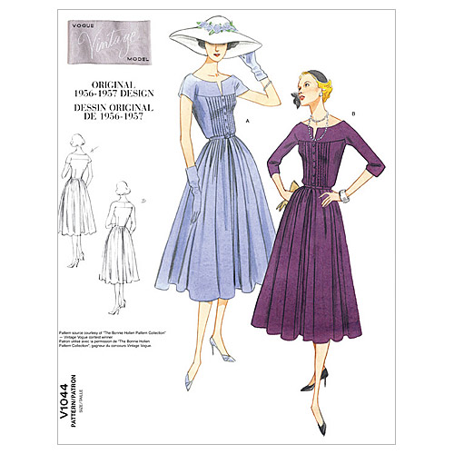 Mccall Pattern V1044 Fw (18-20--Vogue Pattern