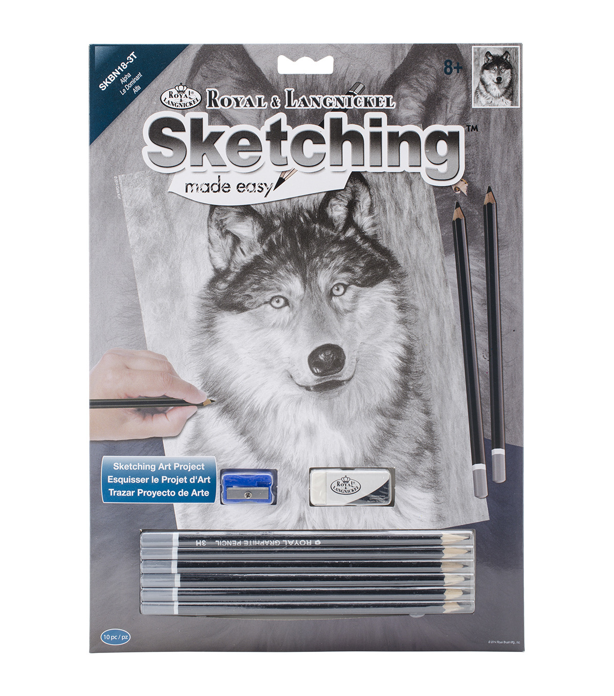 Royal Langnickel Sketching Made Easy Alpha Kit