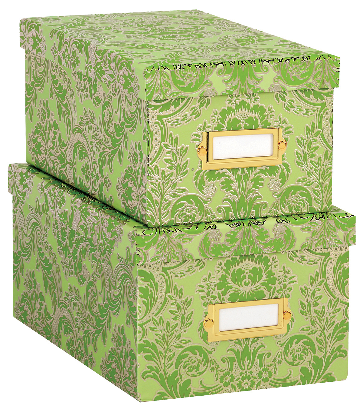 Anna Griffin Green Solid Nesting Boxes