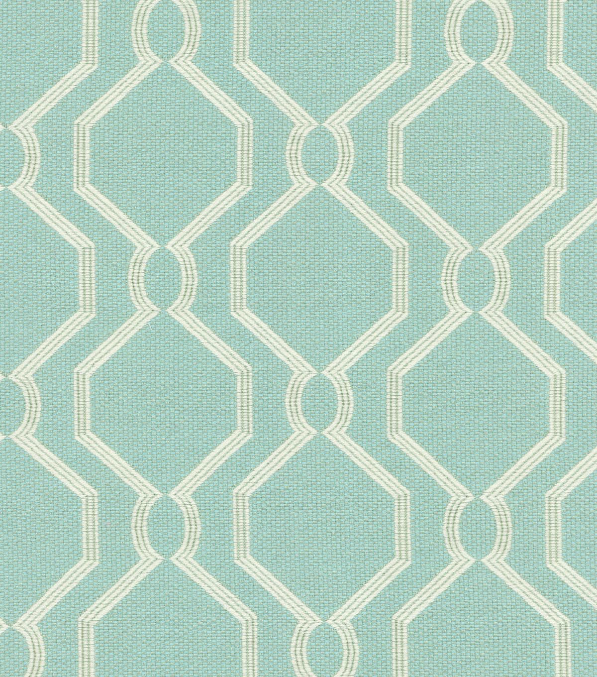 Home Decor 8\u0022x8\u0022 Swatch Fabric-PK Lifestyles Laneway Aegean
