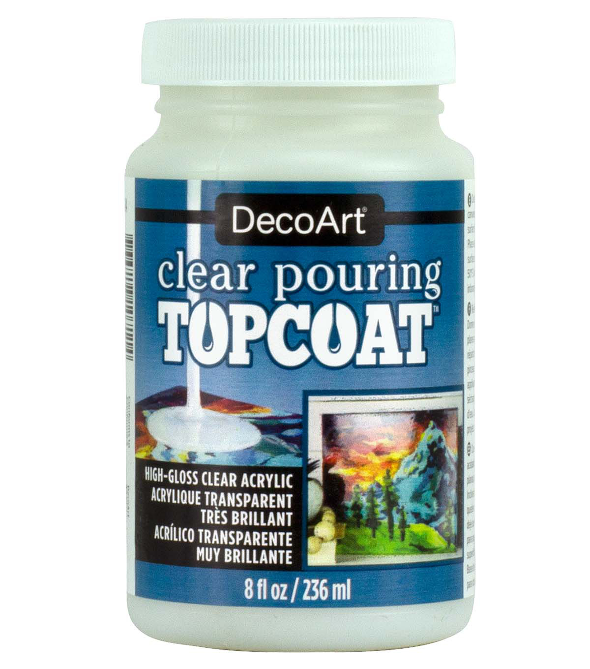 DecoArt 8 fl. oz. Pouring Topcoat-Clear