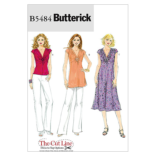 Mccall Pattern B5484 Bb (8-10-1-Butterick Pattern