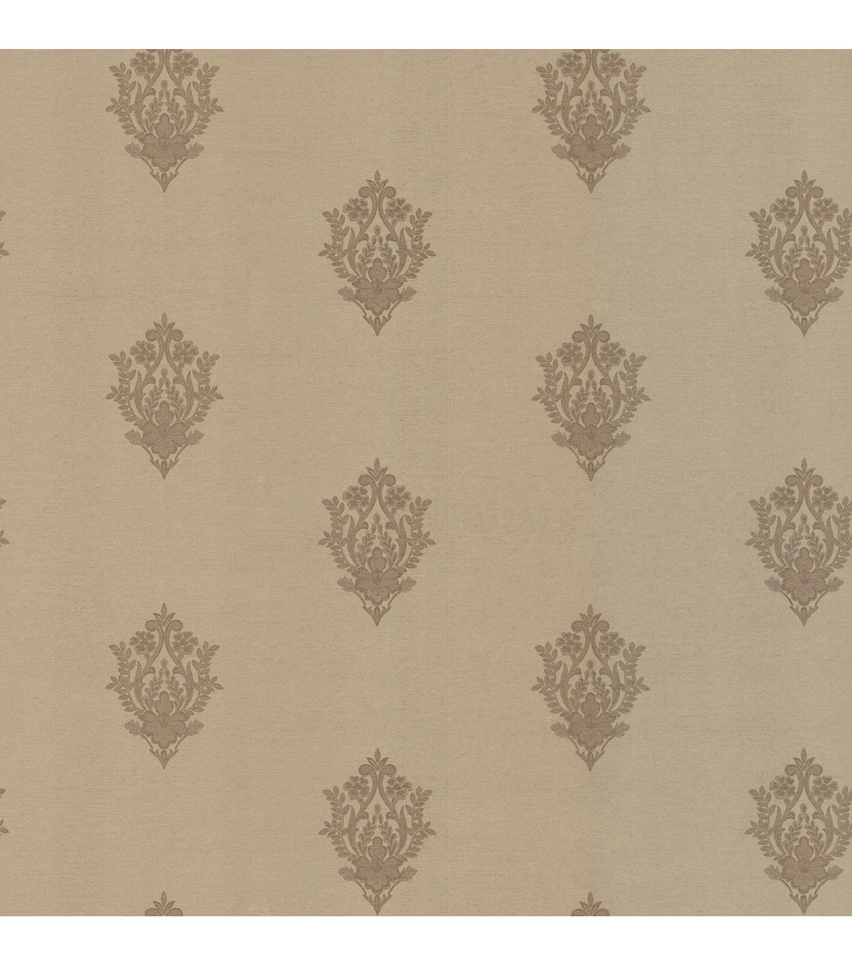 Tatiana Gold Damask Wallpaper Sample