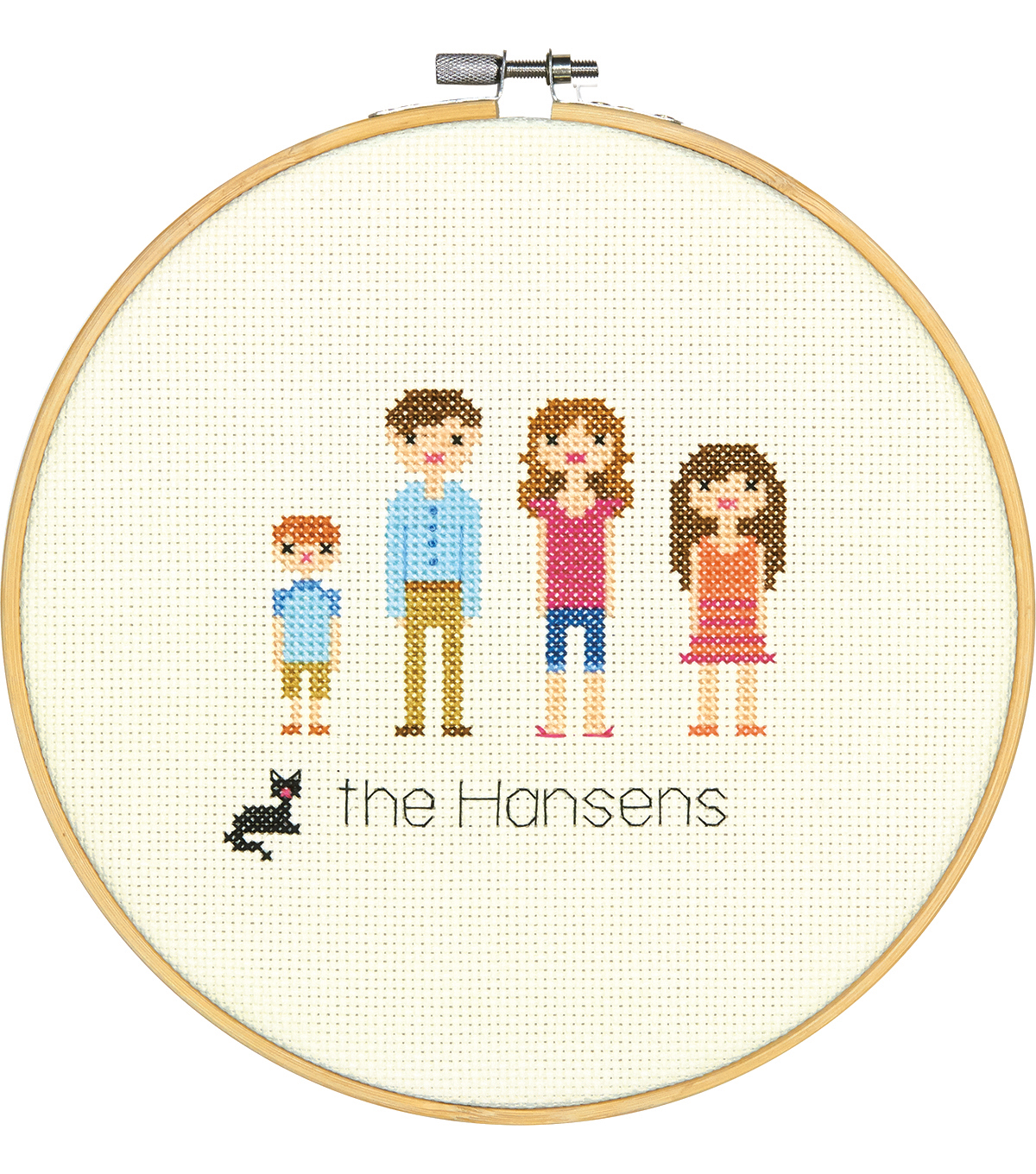 Dimensions Counted Cross Stitch Kit-All in the Family
