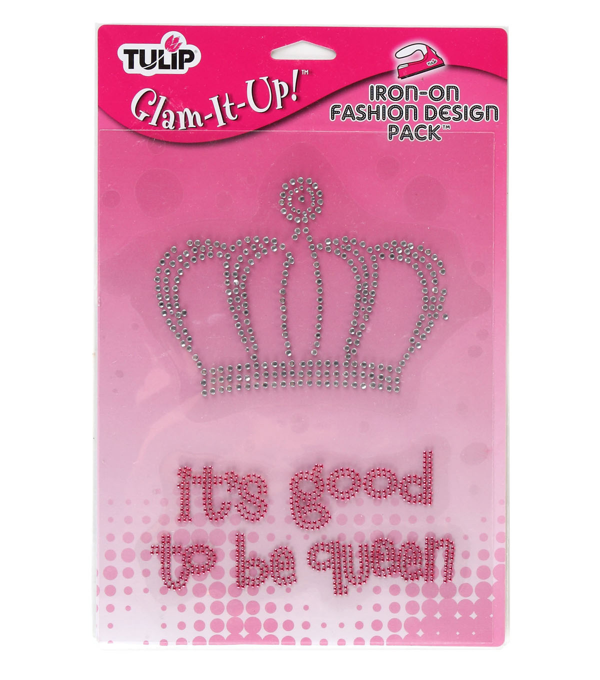 Tulip Glam-It-Up! Iron On Large Pack-Queen