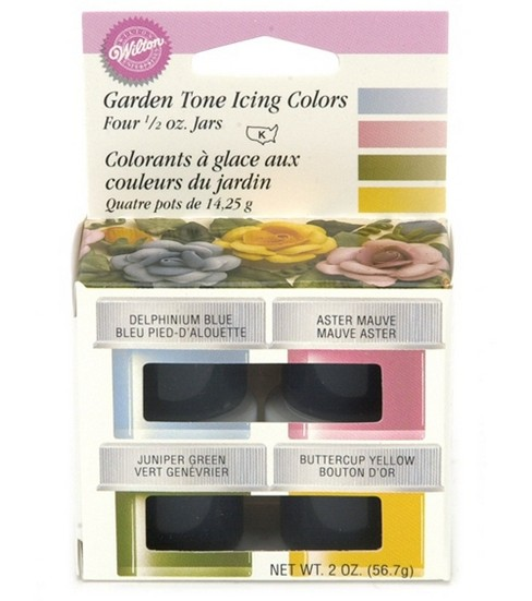 Wilton Garden Tone 4-Icing Colors Set