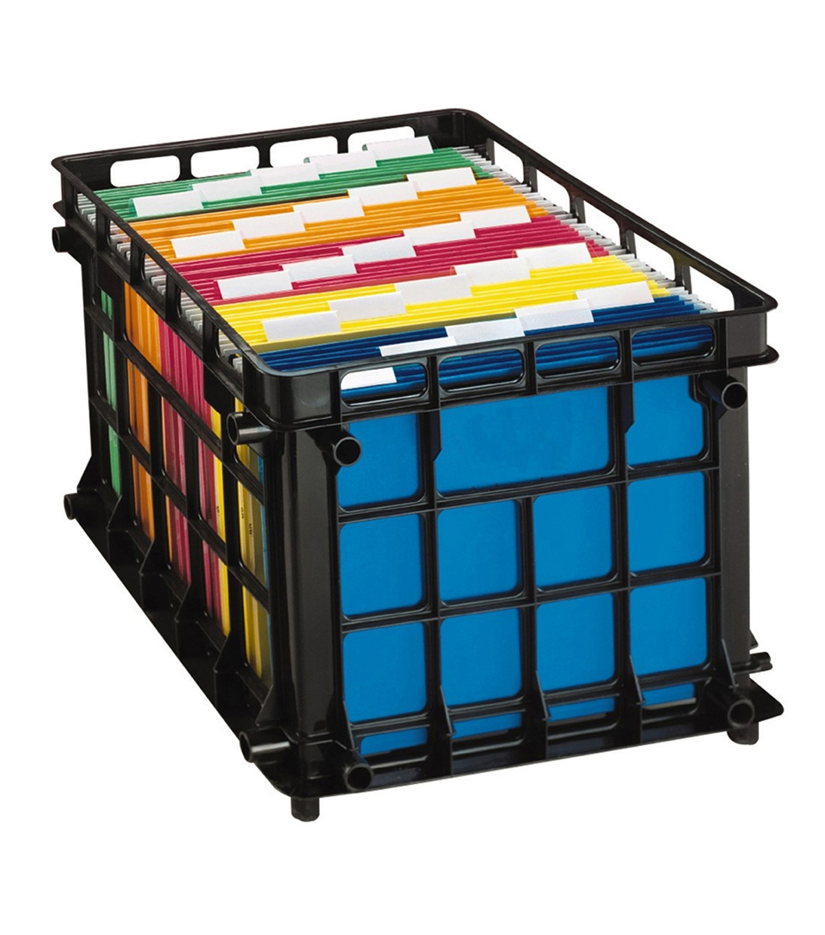 Esselte Filing Crate-Black