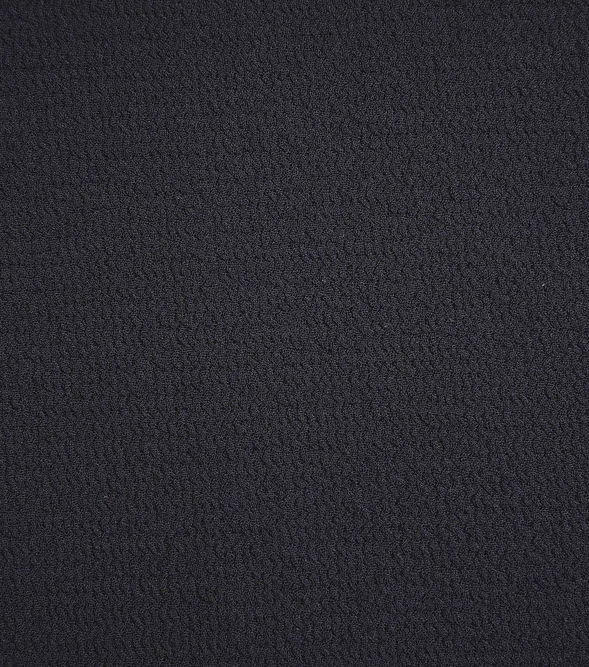 Silky Solid Crepe Knit Fabric-Solid Textured, Black