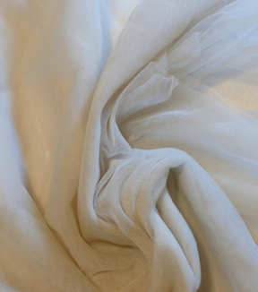 Casa Collection Tulle Fabric -Silver Lining