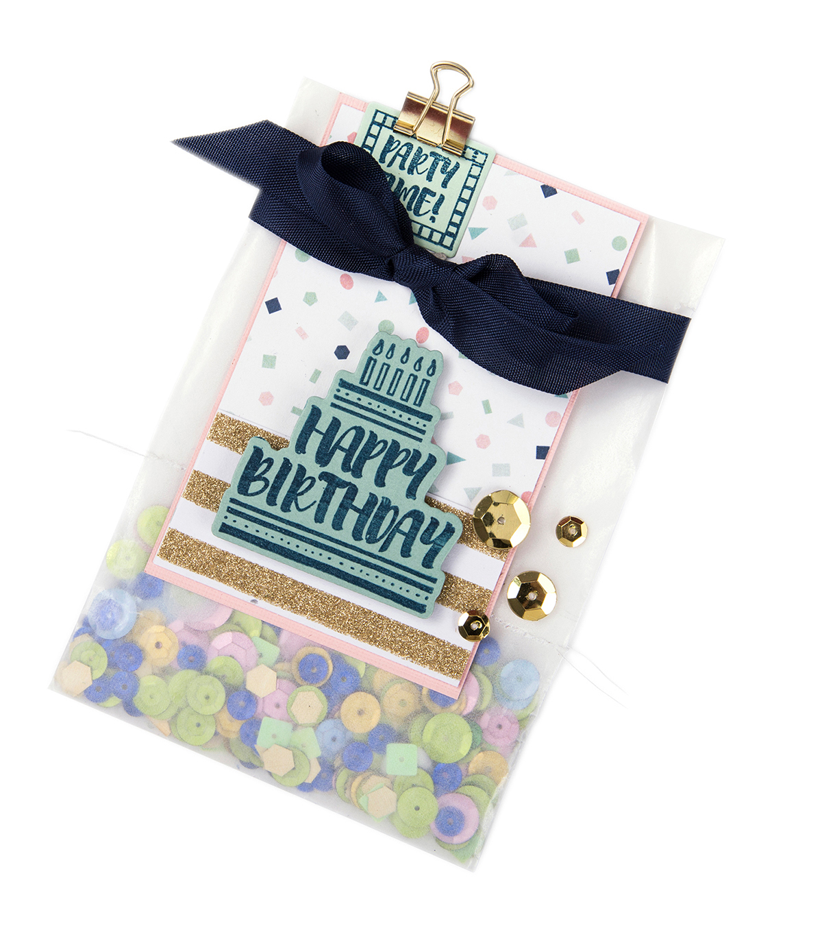 Sizzix Framelits Dies with Stamps-It\u0027s Your Birthday