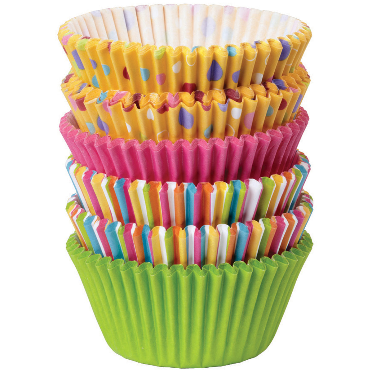 Wilton Sweet Dots and Stripes standard Baking Cups 150ct
