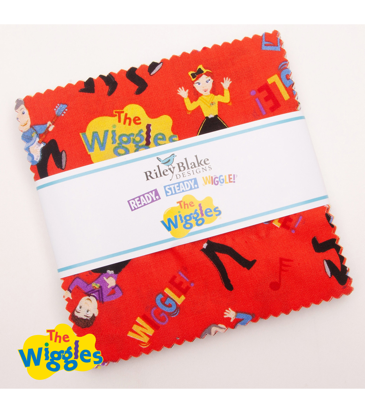 The Wiggles 5 Stackers by Riley Blake