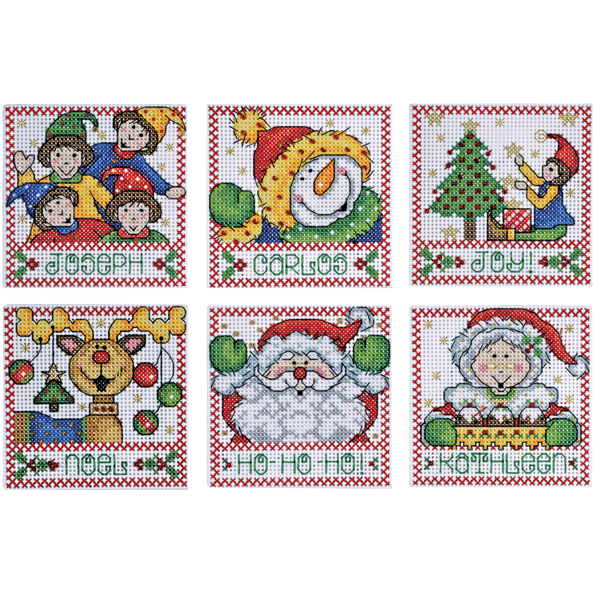 4x4 14ct -holiday Tags Ccx