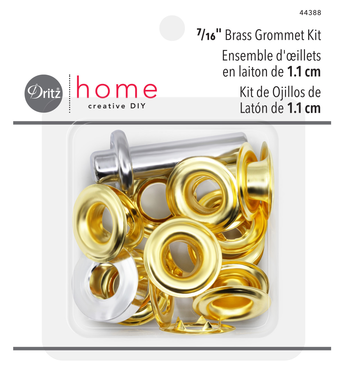 Dritz 0.39\u0022 Home Grommet Kit