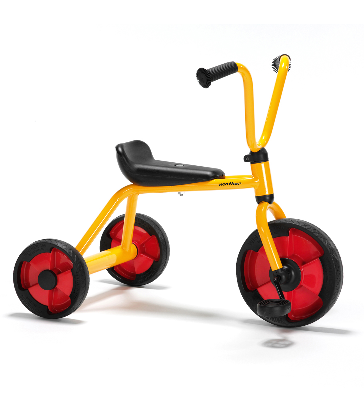 Winther Duo Tricycle-Yellow & Red