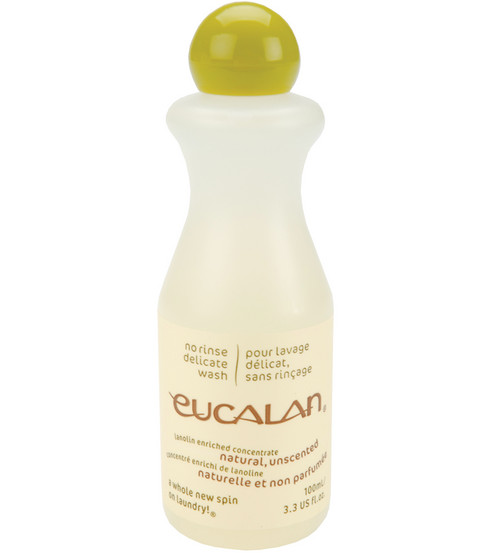 Eucalan Fine Fabric Wash 3.3oz-Unscented