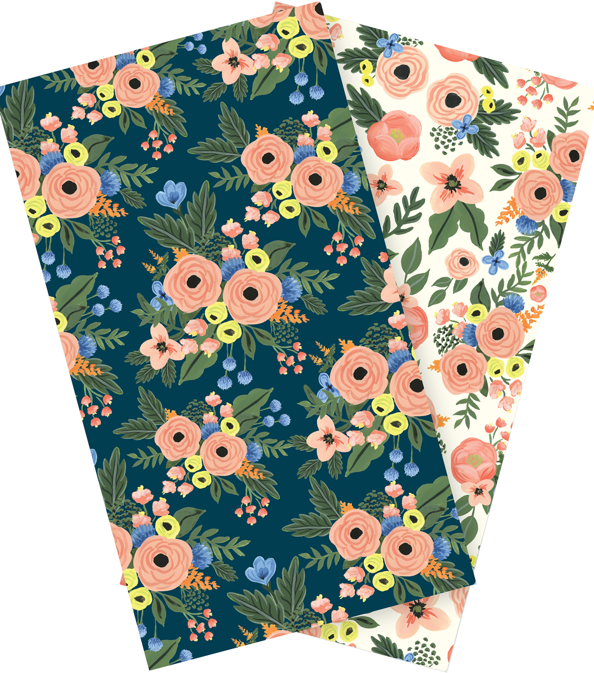Echo Park Paper Company Fancy Flora Travelers Notebook Inserts-Blank