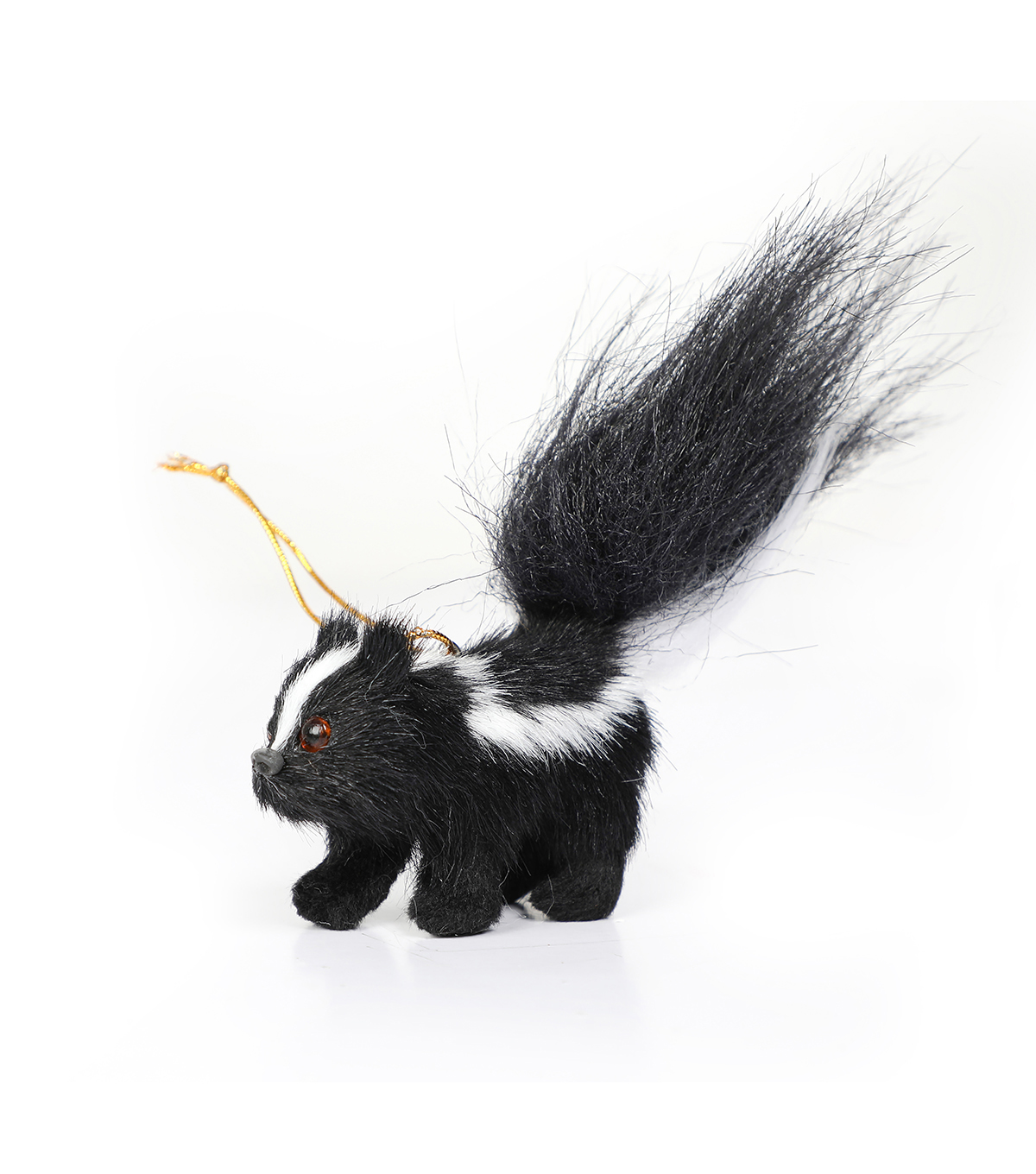 Maker\u0027s Holiday Christmas Baby Skunk Ornament