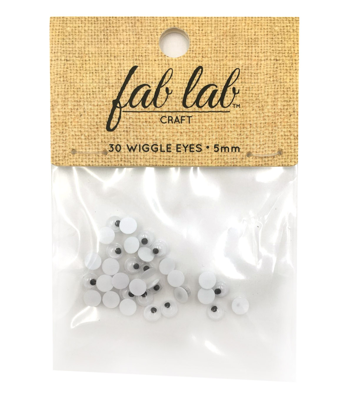 Easyglue Eyes 5mm 30pc
