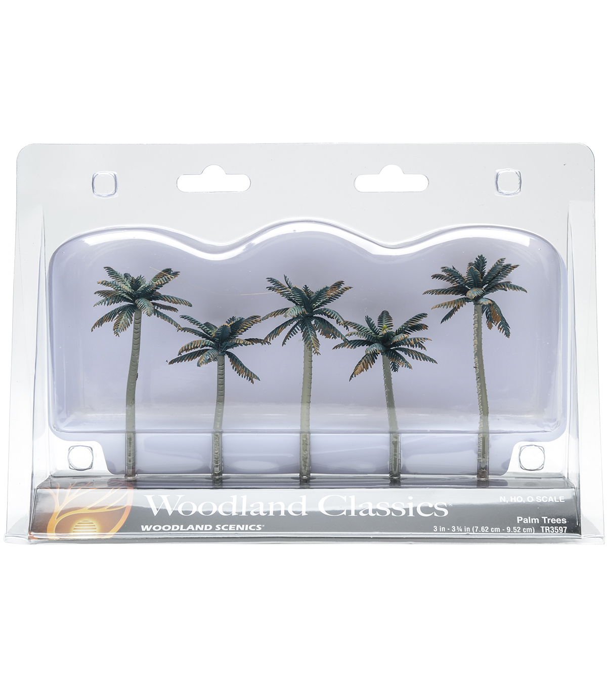 Woodland Scenics 5ct Palm Trees