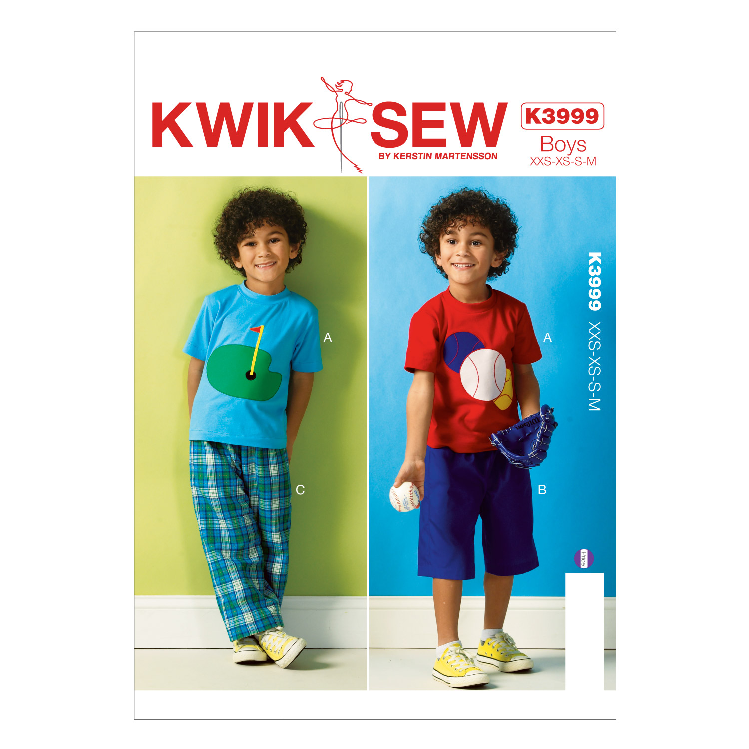Kwik Sew Boys Casual-K3999