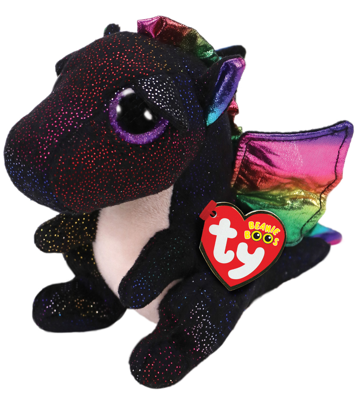 Ty Beanie Boos Regular Anora Dragon-Black