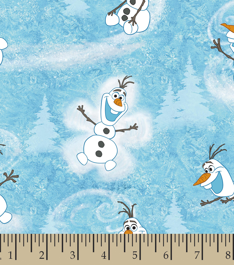 Disney Frozen Cotton Fabric -Olaf