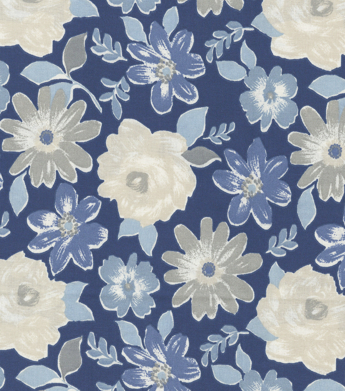 Keepsake Calico Cotton Fabric -Matilda Indigo