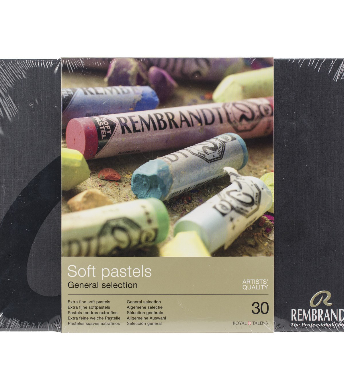 Rembrandt 30 pk Full Stick Extra Fine Soft Pastels-General Selection