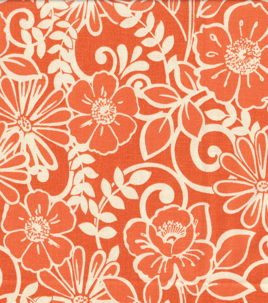 Keepsake Calico Cotton Fabric 44\u0022-Lettsworth Pumpkin