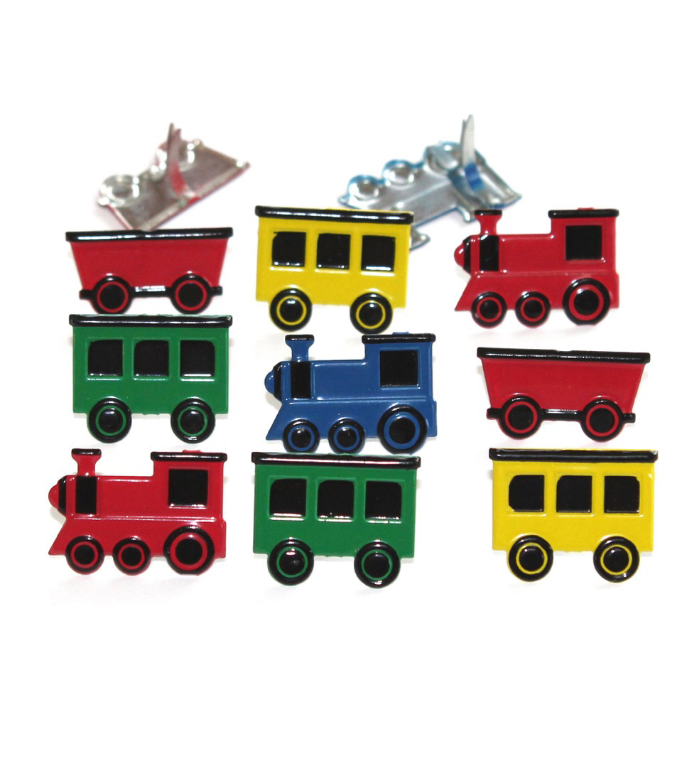 Eyelet Outlet Train Mix Shape Brads