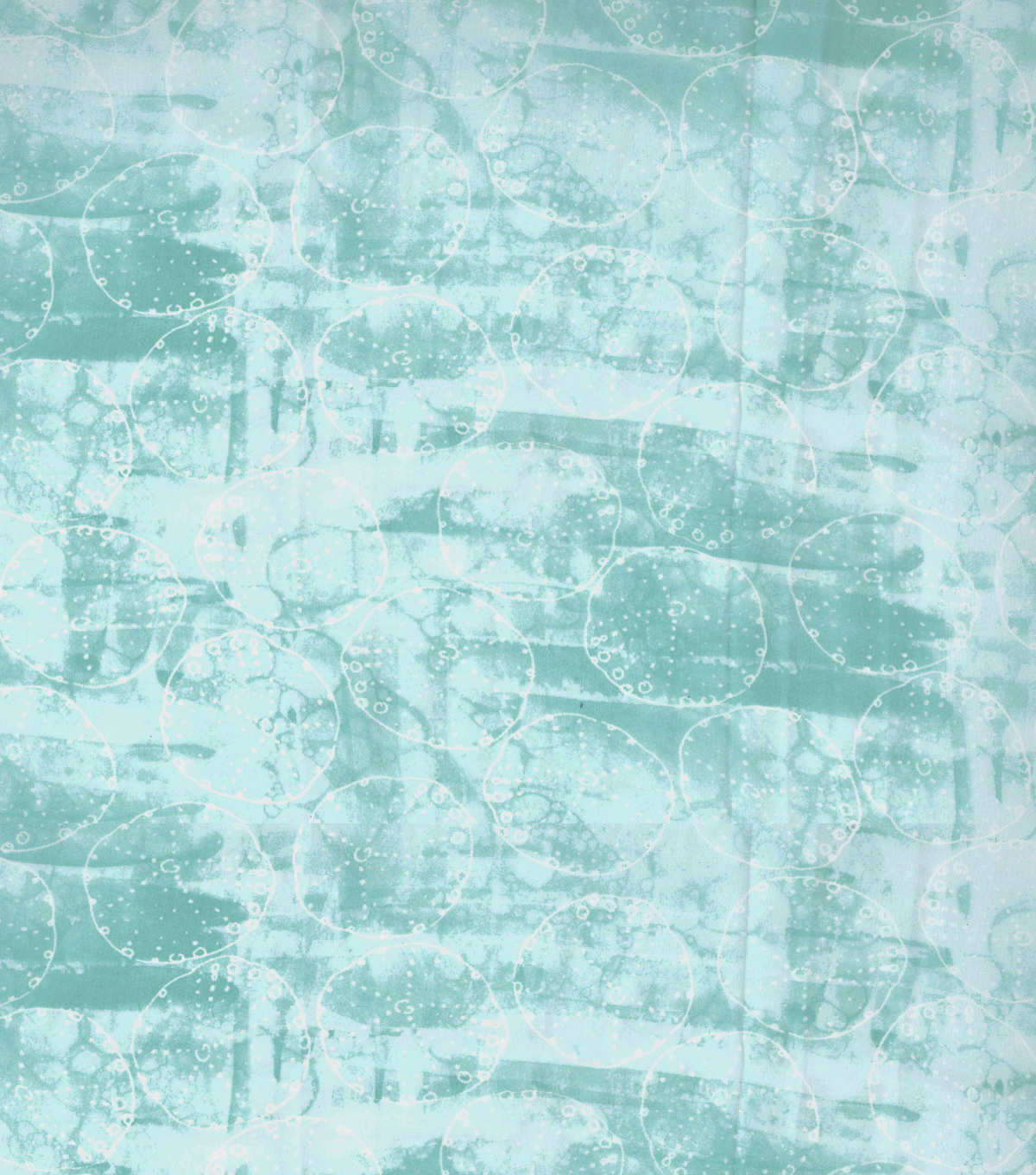 Kathy Davis Chiffon Apparel Fabric 57\u0027\u0027-Mint Sand Dollar