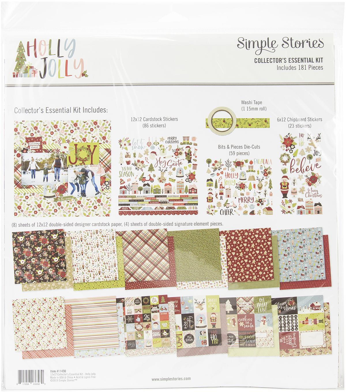 Holly Jolly Simple Basics Kit Simple Stories