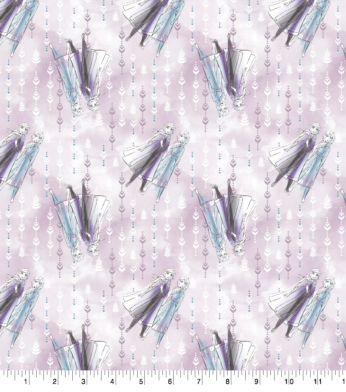 Disney Frozen 2 Cotton Fabric-Sketch Sisterly Love Digital