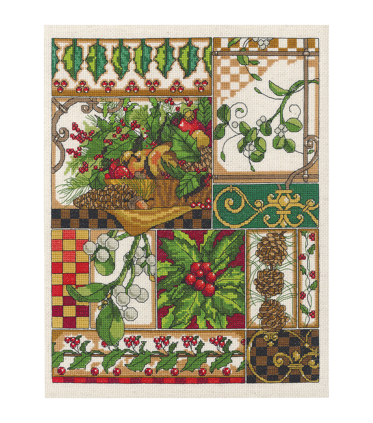 Janlynn Winter Montage Counted Cross Stitch Kit