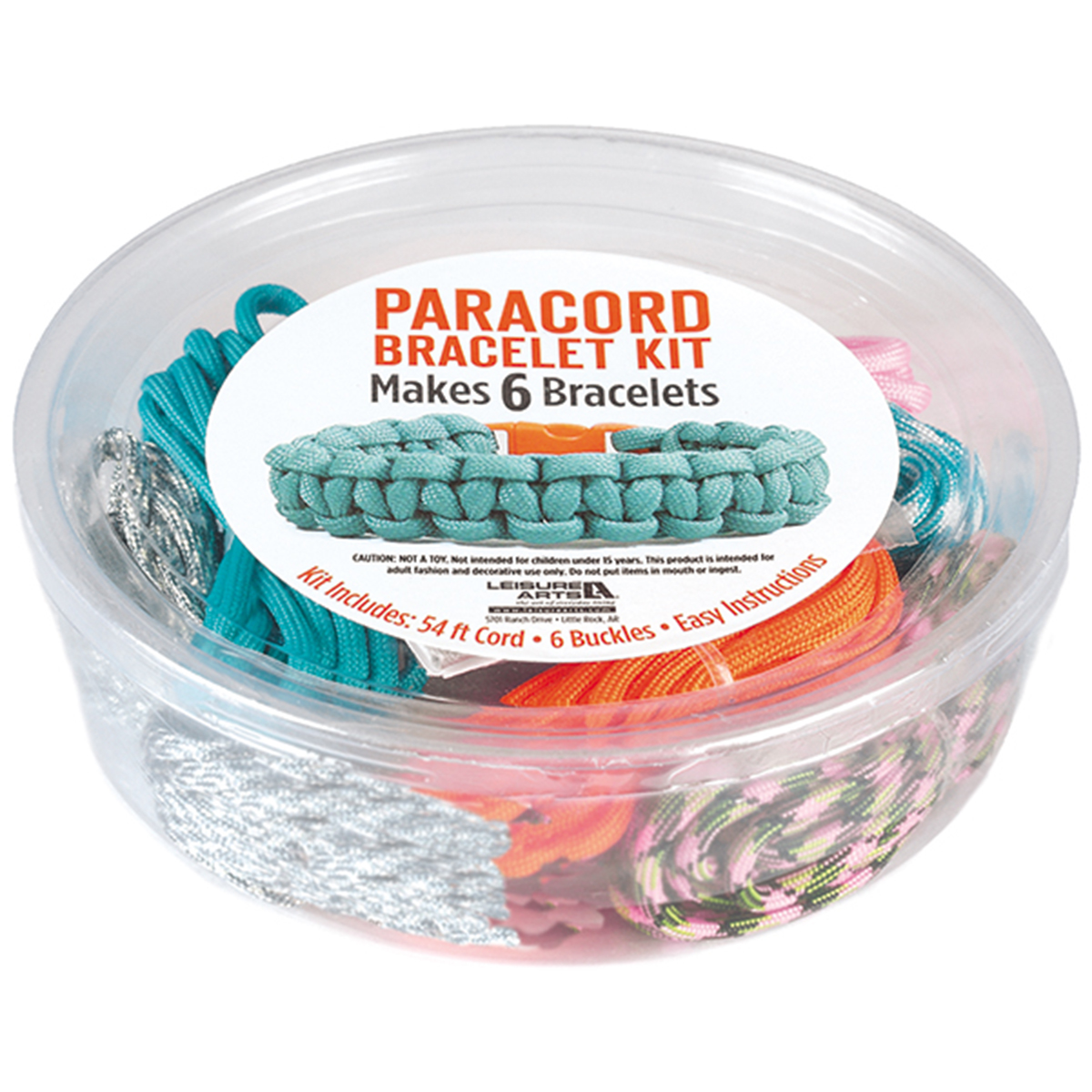 Leisure Arts Paracord Kit Bright