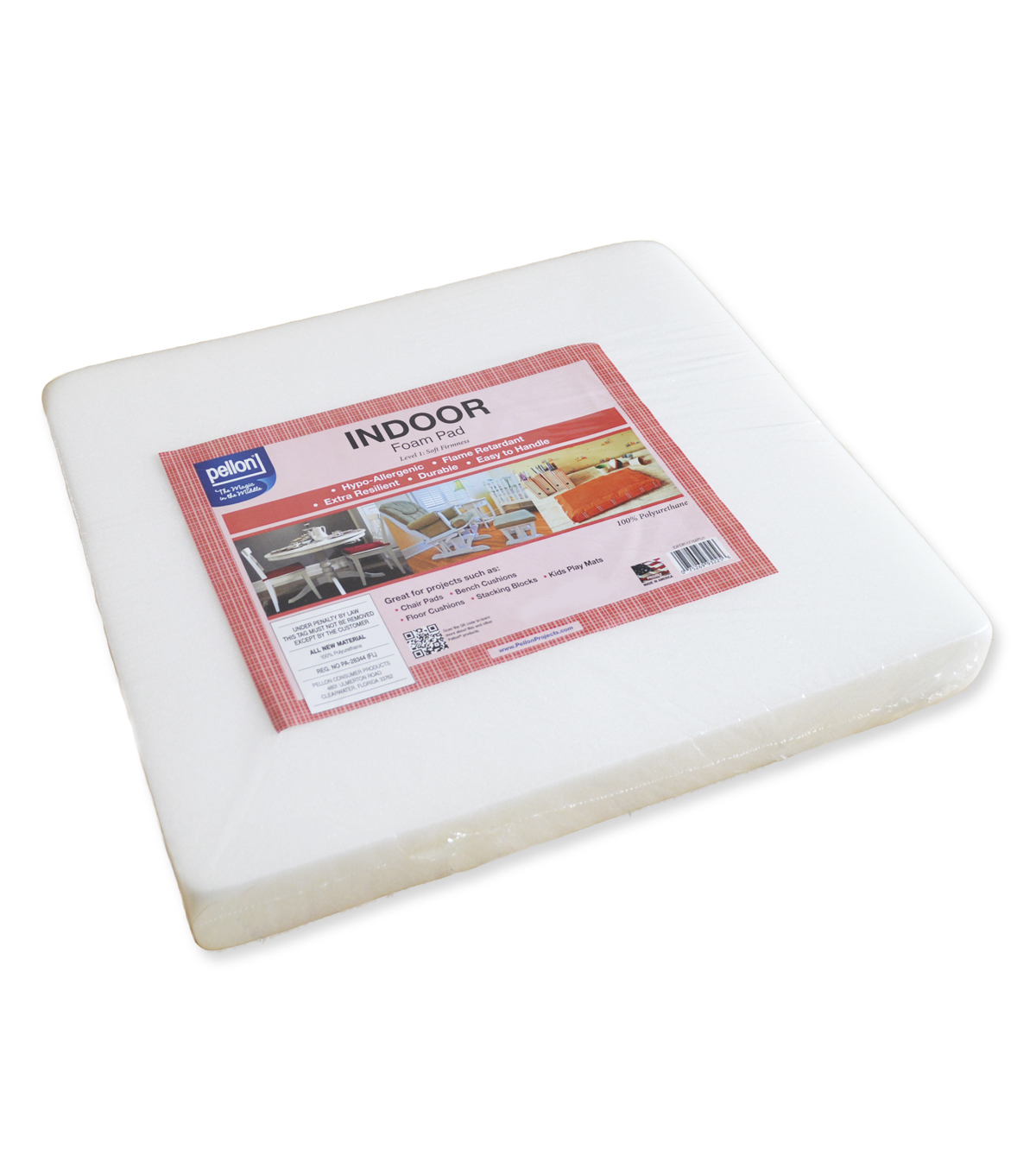 Pellon Indoor Foam Pad 18x18x2
