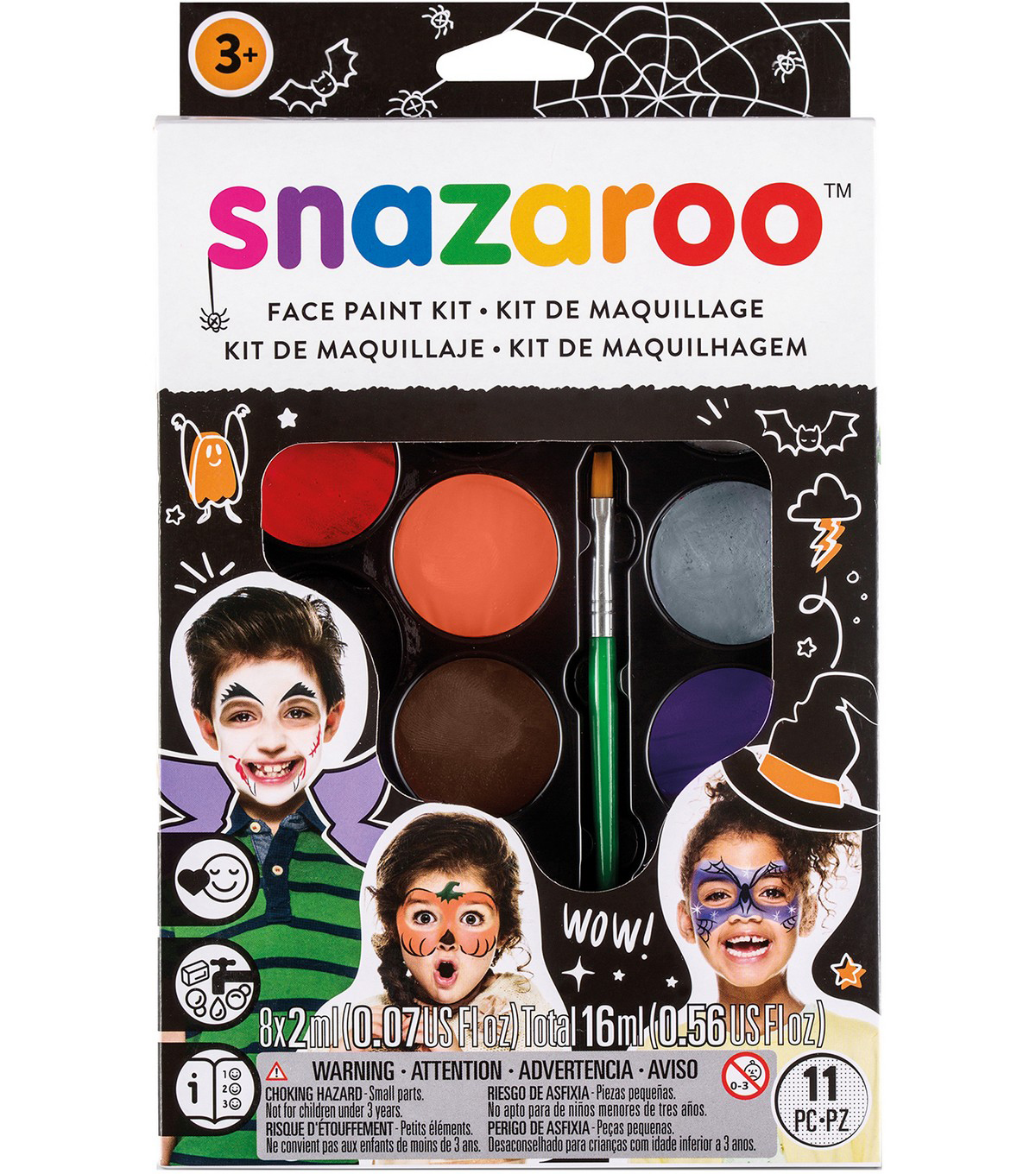 Snazaroo Scary Faces Face Painting Kit