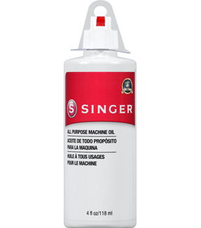 Singer Machine Oil-4 oz Squeeze Bottle