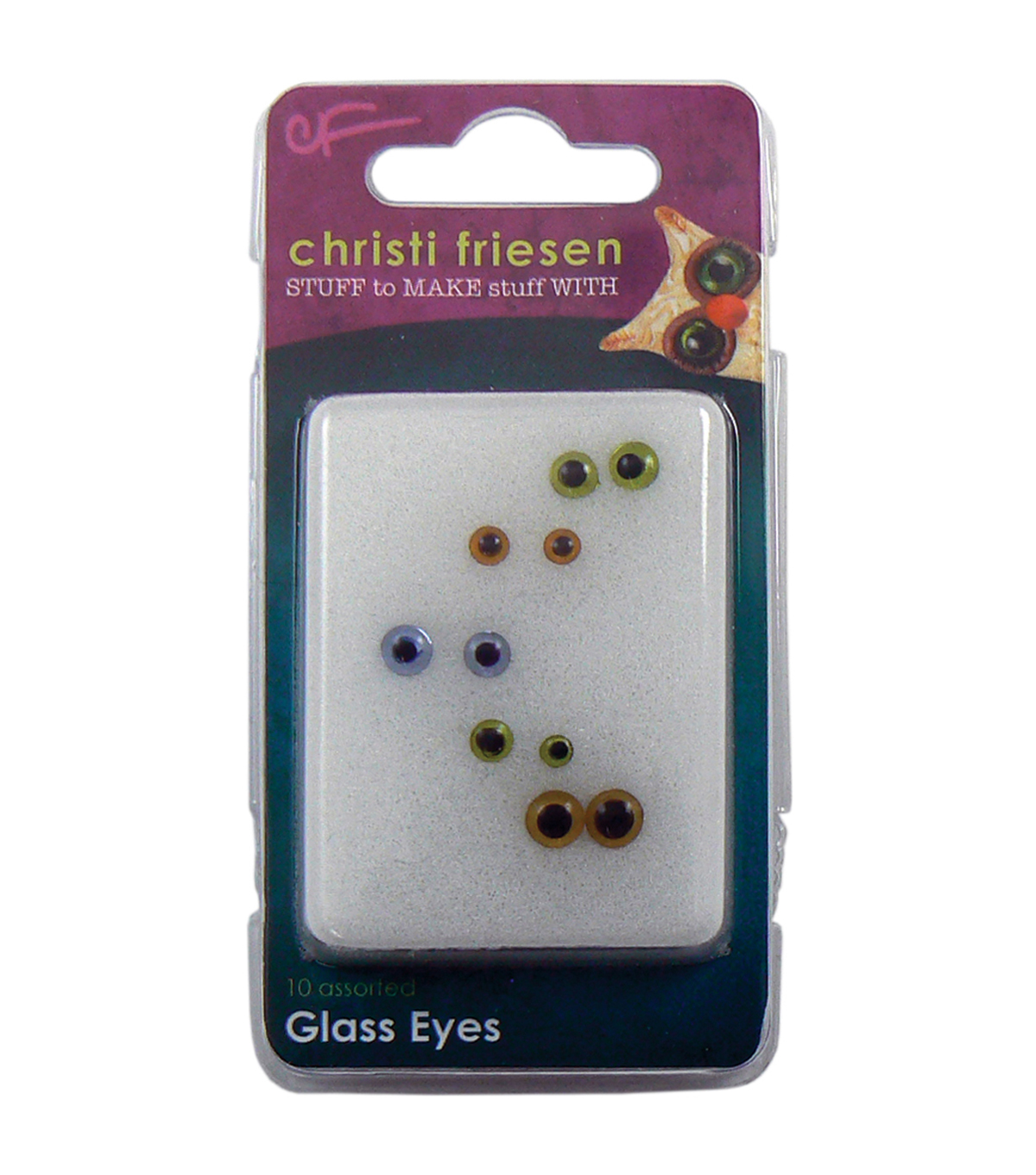 Great Create Christi Friesen Glass Eyes