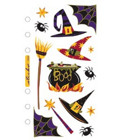 EK Success Sticko Seasonal Classic Stickers-Witch\u0027s Brew