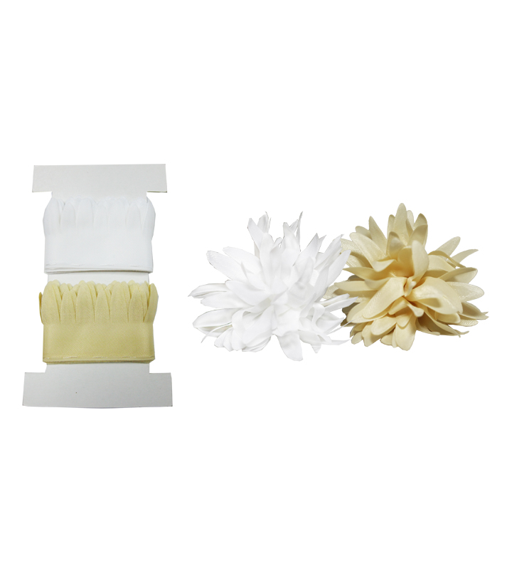 Little B Chrysanthemum Pull Flowers, Ivory & White