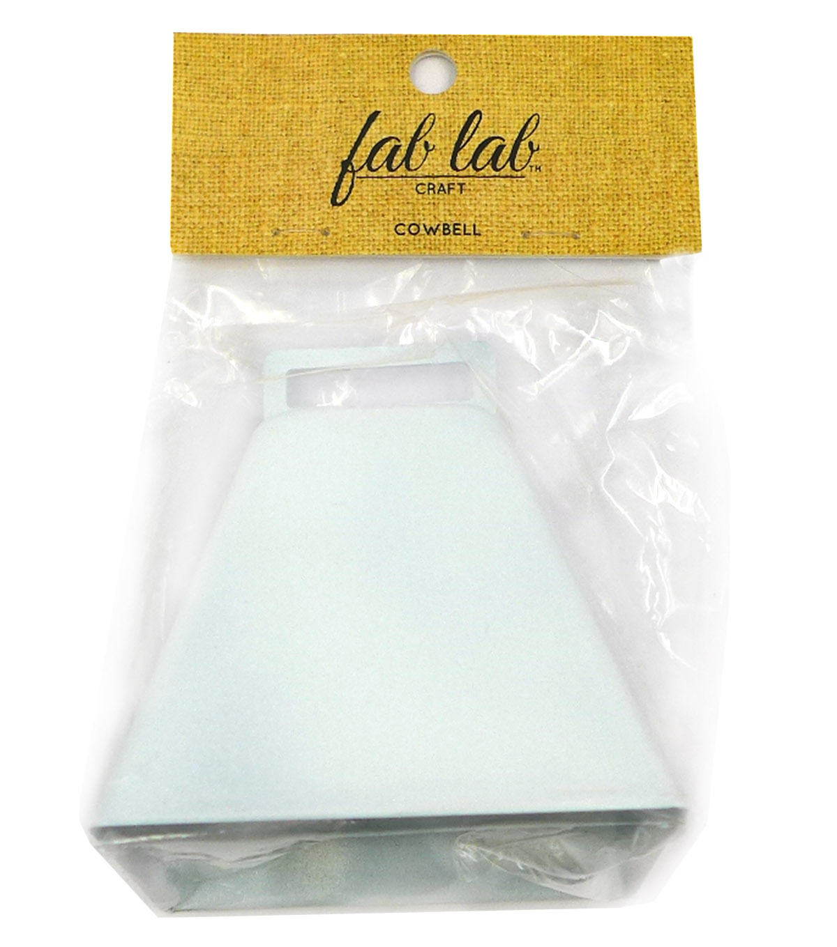 3 Inch White Cowbell Joann